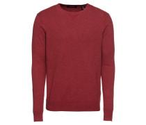 Pullover 'Classic cotton melange crewneck pullover'