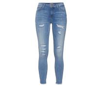 Jeans 'onlCARMEN REG SK ANK RAW DNM BB Cre1125'