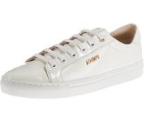 Sneakers 'coralie' weiß