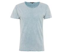T-Shirt 'kendrick' rauchblau