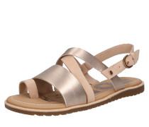 Sandale 'ella' beige / rosa