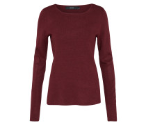 Pullover 'glory' rubinrot