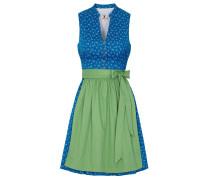 Dirndl 'Kora' blau / grün