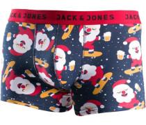 Boxer navy / rot / weiß