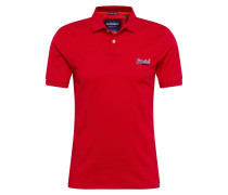 Poloshirt 'Mercerised Lite City' rot