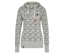 Sweatshirt 'Mandy will Vögel' rauchgrau