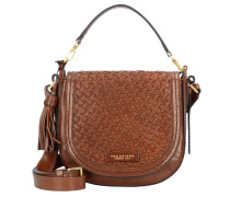Handtasche 'Salinger' 23 cm braun