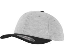 Cap graumeliert / schwarz