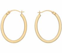 Paar Creolen gold