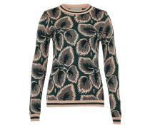 Pullover hellbeige / grün