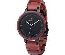 Uhr 'Lamprecht Rosewood Watwlam9917'