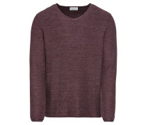 Pullover 'mouline honeycomb sweater'