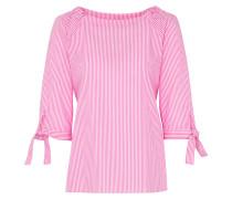 Bluse pink / weiß