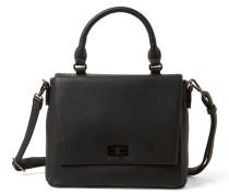 Überschlagtasche 'Alanna' schwarz