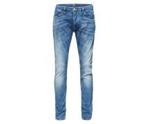 Jeans im Used-Look 'Ego Energy' hellblau