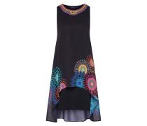 Kleid 'vest_Portia' mischfarben / schwarz