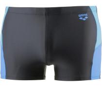 'Ren' Kastenbadehose blau / schwarz