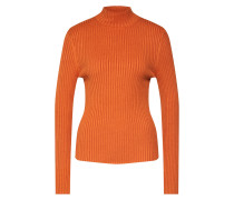 Pullover 'Saul t-neck' orange