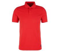 Piqué-Poloshirt rot