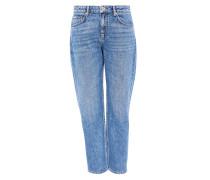 Verkürzte Jeans aus Candiani Denim