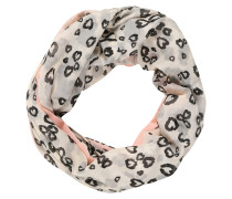 Schal 'Allover Printed Infinity' rosa