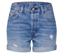 Short '501' blue denim