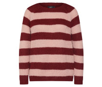 Pullover 'new Malone' rosa / weinrot