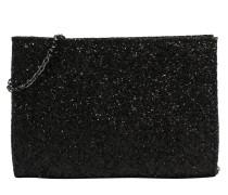 Clutch 'fold' schwarz