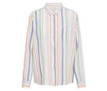 Shirt hellgrün / lila / weiß