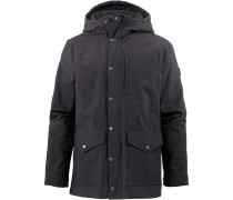'Waxed Canvas Utility' Kapuzenjacke