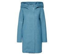 Mantel 'onlMADDIE Light Hooded Long Coat CC Otw'