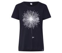 Shirt 'Blowball' schwarz / weiß