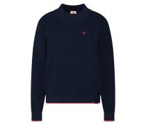 Sweatshirt 'Billie Knit' navy / pink