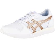 Sneakers bronze / weiß