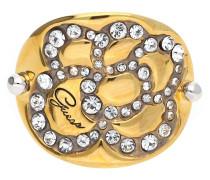 Damen Fingerring Metall Gold/Silber Ubr11305