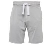 Shorts 'washed Shorts' hellgrau
