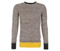 Pullover beige / gelb / schwarz