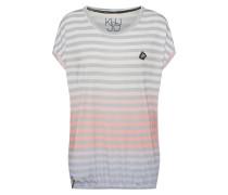 Shirt 'zaida' hellblau / grau / altrosa