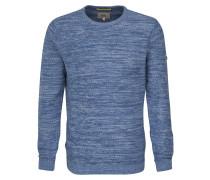 Pullover blaumeliert