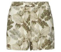 Shorts 'Adira' beige / grün