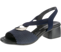 Sandalette navy