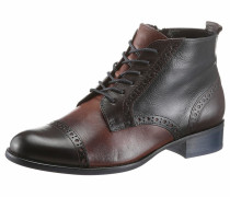 Ankle-Boots braun / dunkelbraun