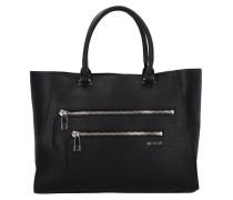 Tasche Handtasche 38 cm schwarz