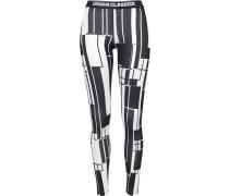 Leggings schwarz / weiß