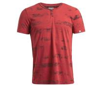 T-Shirt 'Tannik' rot / schwarz