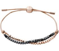 Armband rosegold / anthrazit