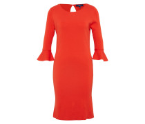Kleid neonrot
