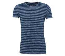 T-Shirt 'short Sleeve Indigo Top' navy