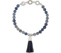 Armband 'p158' blau / silber