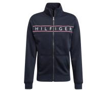 Sweatjacke 'hilfiger Logo ZIP Through'